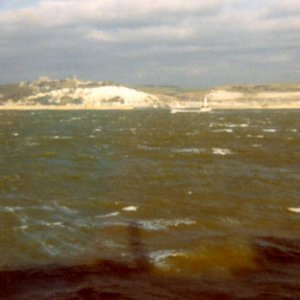 Dover from M/t Hallanger