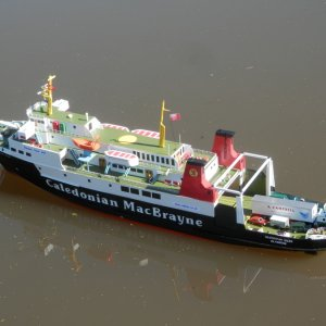 'Hebridean Isles' in Union Canal (3)