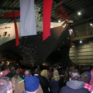 Incat Hull 064 Launching (1)