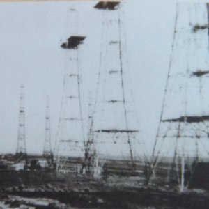 High Level Chain Home RADAR masts