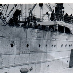 French Troopship