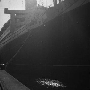 RMS Queen Mary Dockside - Unknown Location