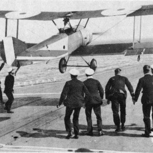 First Landing on HMS Furious