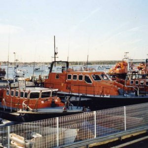 Lifeboats at Poole