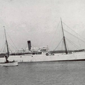 UnionLine Intermediate Steamer Greek 1893