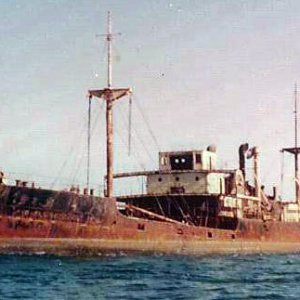 SS Eletric - Grounded on Masirah island, Oman.