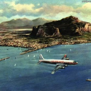 Port of  Palermo 1960