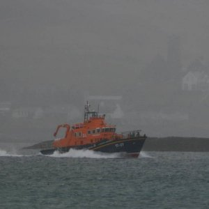 Relief Leaving Castlebay