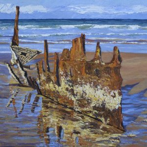 SS Dicky - Beached Remains