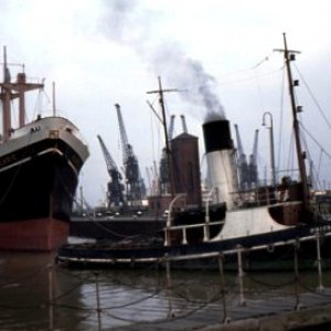 Steam Tug Prizeman (United Towing Company Ltd) at Hull 1963
