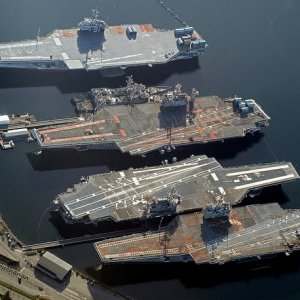 USS Independence, USS Kitty Hawk, USS Constellation, USS Ranger