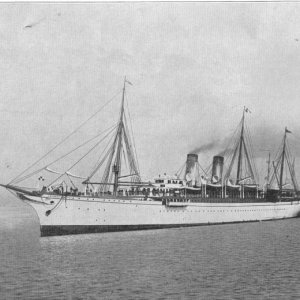 THE EMPRESS OF JAPAN MAIL STEAMER.