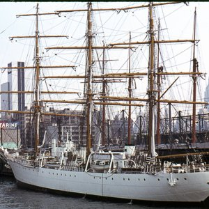 Tall ship in New York