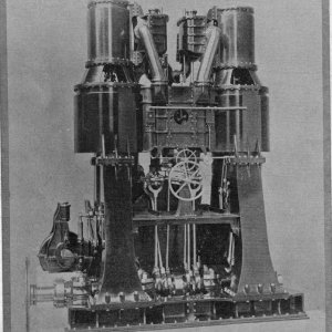 COMPOUND INVERTED VERTICAL ENGINES 1864