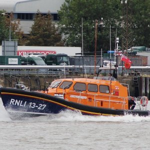 RNLB JOANNA AND HENRY WILLIAMS RNLI 13-27