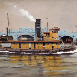 Steam tug - Madison