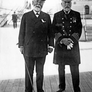 Lord Pirrie and Capt. E.J.Smith