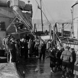 Evacuation from Sørøya