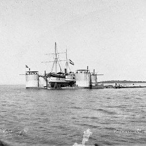 PULAU AMSTERDAM? 1888 floating dock