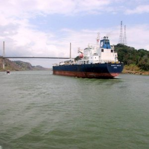 TRIP THROUGH PANAMA CANAL