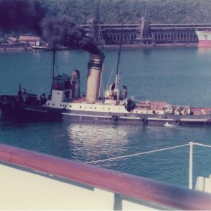Durban South African Railway tug