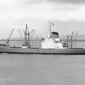 LAURENTIC passing Portishead 12.8.70 Malcolm Cranfield.jpg