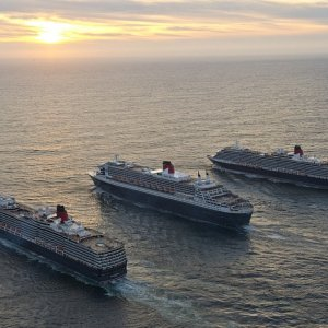 May 2015 all three  Cunard ships call at Liverpool.jpg