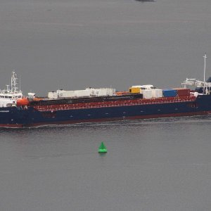 UGAN DISCOVERY OUTBOUND PASSING PORT GLASGOW 2ND SEP 2020.JPG