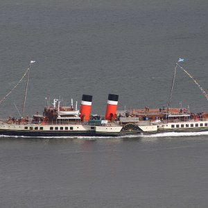 WAVERLEY AFTER NEW BOILER FIT OFF PORT GLASGOW 22ND AUG 2020.JPG