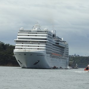 MSC Magnifica in Sydney 2018