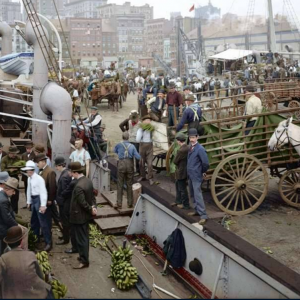 East River in New York - c.1900.png  - https://www.youtube.com/watch?v=1T7sZCYGyw8