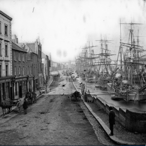 North Quay, Drogheda, Ireland, between 1860 and 1883..png
