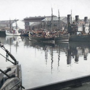 Hartlepool Old Wood Quay...