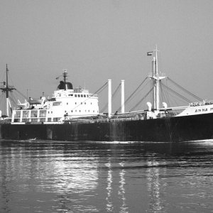 ANNA MARIA S. inbound Rotterdam from Bangkok on 5.12.71 Malcolm Cranfield collection.jpg