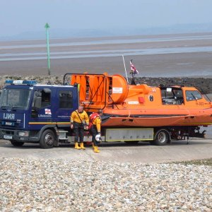 Morecambe Lifeboat, (Hovercraft)