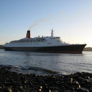 QE 2  Farewell to Halifax