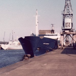 Lincolnbrook 1982 Trip before loading for Port Stanley 1