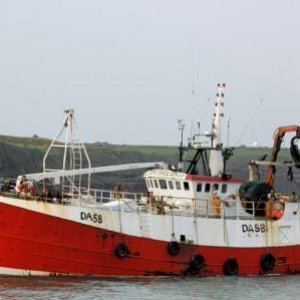 celtic bucaneer entering dunmore east