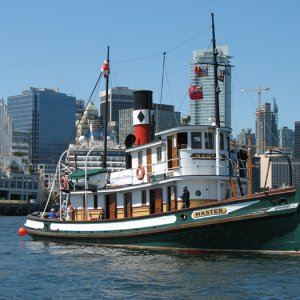 SS Master ( 1922 ) Canadian Steam Powered Tugboat