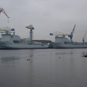 RFA's Largs & Lyme Bay