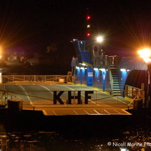King Harry Ferry at Night