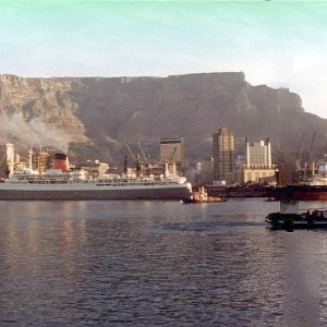 Pendennis Castle in Capetown 1972