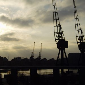 The Royal Victoria Docks