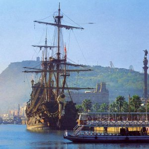 Unknown Galleon in Barcelona = Neptune