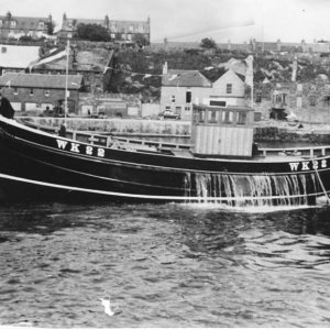 Launching at Wick