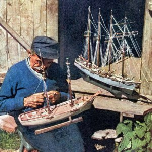 Sailing ship models, as they used to be made