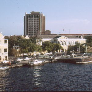 Curacao Pontoon Bridge 1971