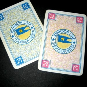 Johnson Line Playing cards 1