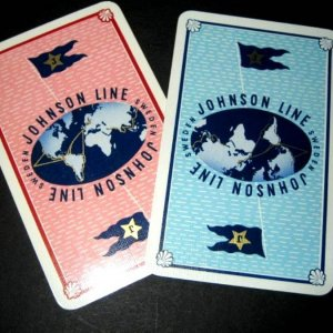 Johnson Line Playing cards 2
